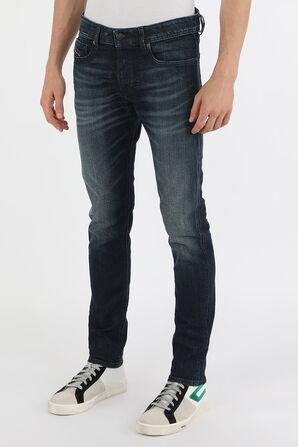 מכנסי סקיני ג'ינס בשטיפה כחולה DIESEL