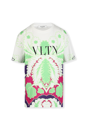 Printed T-Shirt in White VALENTINO