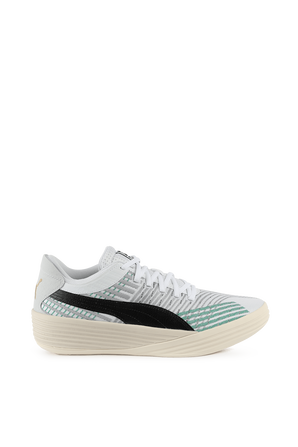 Clyde All-Pro Coast 2 Coast Sneakers in Grey and Green PUMA