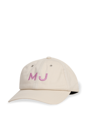 Traveler Cap in Cream MARC JACOBS