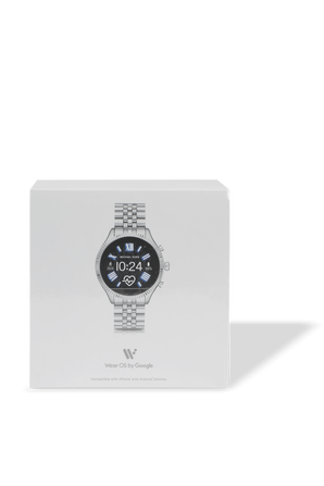 Access Lexington 2 Silver Tone Smartwatch In Silver MICHAEL KORS