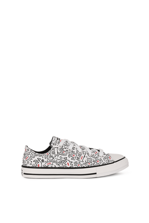 Converse X Keith Haring Chuck Taylor Low Top in White CONVERSE