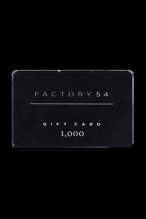 גיפט קארד על סך 1000 שקלים GIFT CARD