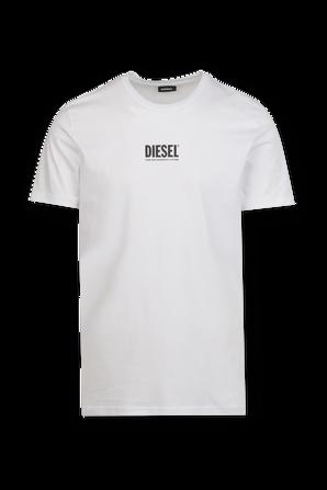 Small Logo T-Shirt in White DIESEL