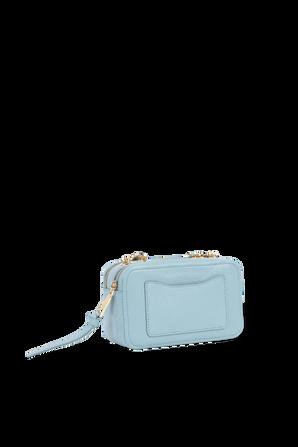 תיק גלאם שוט 21 מעור בצבע כחול MARC JACOBS