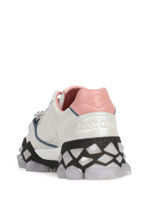 Pearls and Crystals Sneakers in White JIMMY CHOO