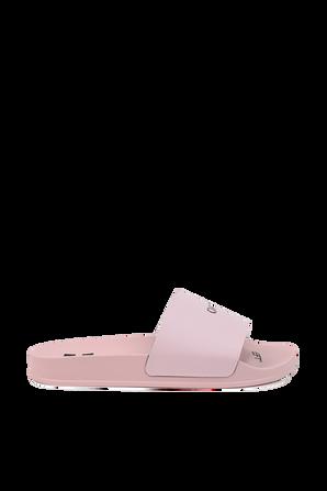 Pool Sliders in Pink OFF WHITE