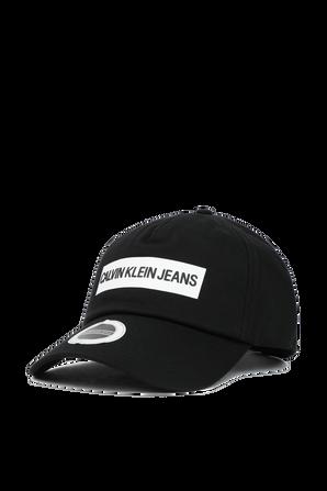 Twill Logo Cap in Black CALVIN KLEIN
