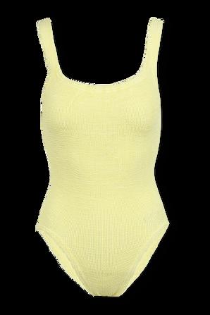 Square Neck Swim Lemon HUNZA G