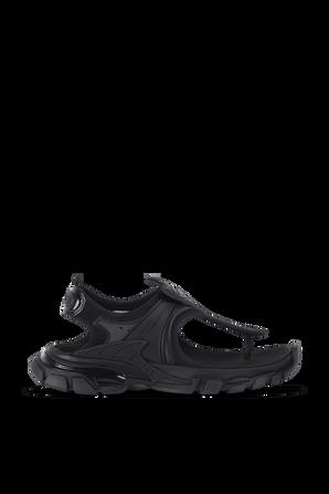 Track Sandals in Black BALENCIAGA