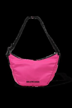 Wheel Shoulder Bag In Pink BALENCIAGA