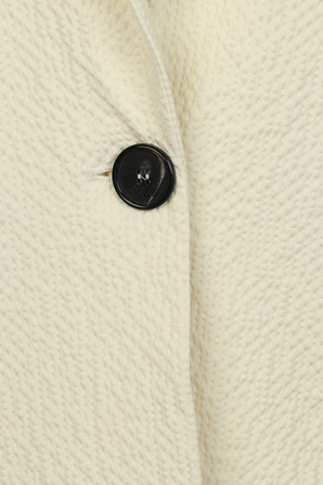 Relaxed Tailored Jacket in Cream VICTORIA BY VICTORIA BECKHAM