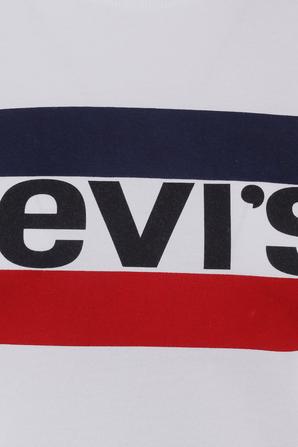 Logo tee in White LEVI`S