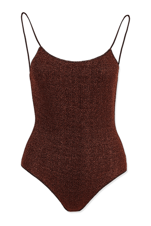 Brown Lumiere Maillot Swimswuit OSEREE