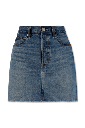 Ribcage Skirt in Medium Indigo LEVI`S
