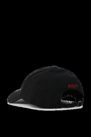 Classic Sport Cap in Black POLO RALPH LAUREN