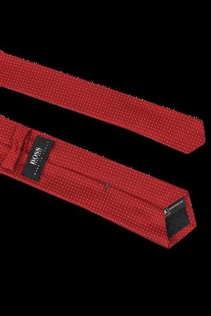 Silk Tie in Red  BOSS