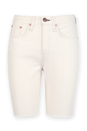 Maya High Rise Shorts in White RAG & BONE