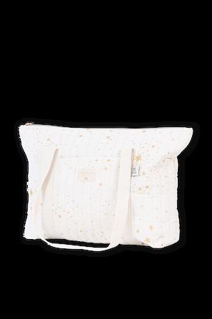 Paris Stella Maternity Bag in Cream NOBODINOZ