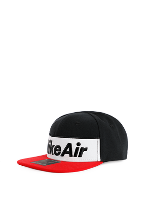 כובע קסקט נייק אייר באדום ושחור NIKE