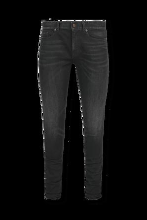 Low Rise Skinny Jeans In Black SAINT LAURENT