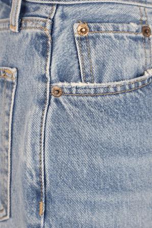 מכנסי ג'ינס ניינטיז עם קרעים בשטיפה בהירה RE/DONE