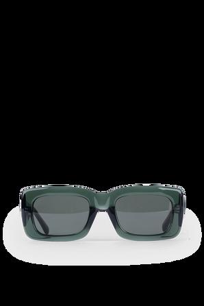 Mafra Sunglasses in Green THE ATTICO