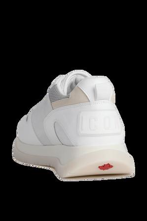 נעלי ריצה בצבע לבן DSQUARED2