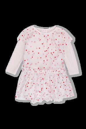 גילאי 3-36 חודשים שמלת טול בנקודות צבעוניות STELLA McCARTNEY KIDS
