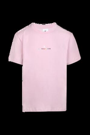 Pride - Back Logo T-Shirt in Pink CALVIN KLEIN