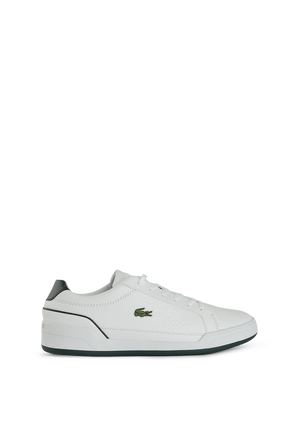 Challenge 0721 Sneakers in White and Green LACOSTE