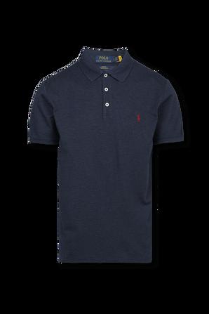 Classic Slim Polo Shirt in Navy POLO RALPH LAUREN