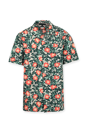 Floral Camo Buttoned Down Shirt TOMMY HILFIGER