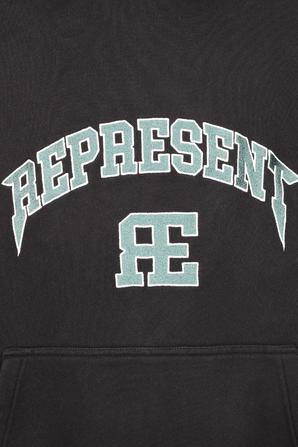 Logo Sweatshirt in Black REPRESENT
