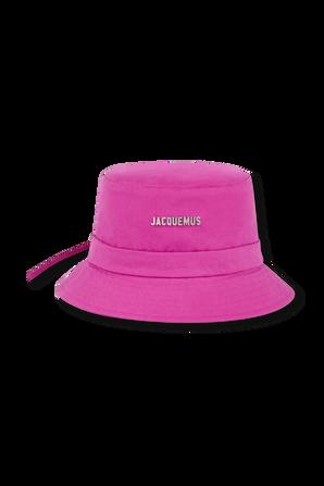 Le Bob Gadjo Bucket Hat in Pink JACQUEMUS