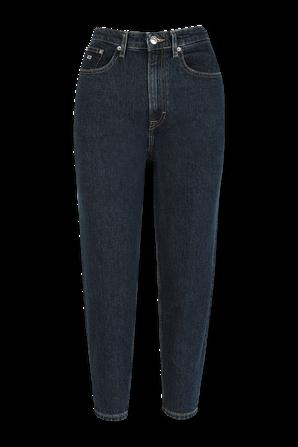 מכנסי ג'ינס בגזרה ישרה בשטיפה כהה TOMMY HILFIGER