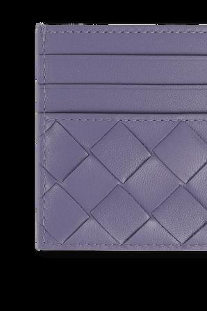 Card Case in Lavender Nappa Leather BOTTEGA VENETA
