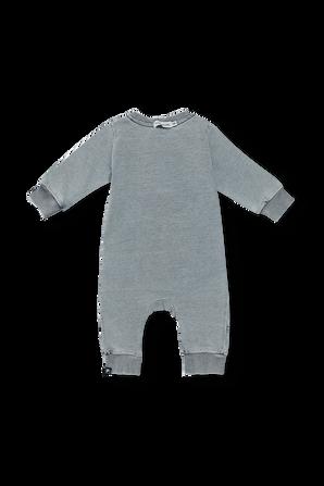גילאי NB- 12 חודשים אוברול ג'ינס בכחול FILA
