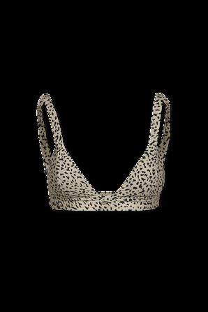 Ur An Animal Bikini Top in Leopard VOLCOM