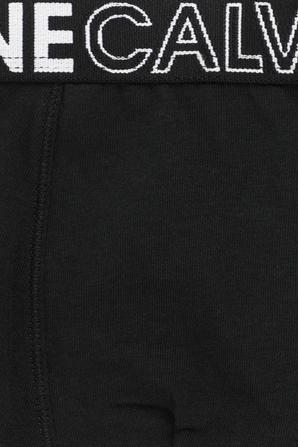 גילאי 8-16 מארז 2 זוגות תחתונים עם סטרייפ לוגו CALVIN KLEIN