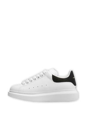 Oversized Sneakers in White and Black ALEXANDER MCQUEEN