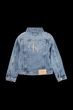 גילאי 4-16 ז`קט ג`ינס עם לוגו CALVIN KLEIN