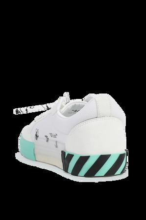 נעלי סניקרס מקנבס לבן עם טורקיז OFF WHITE