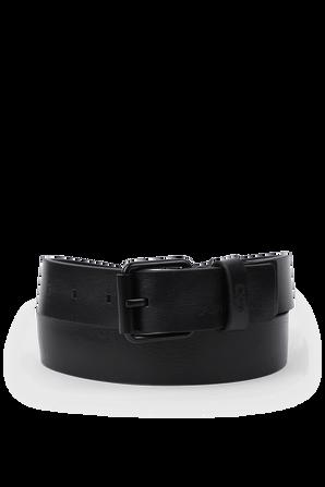 Black Leather Belt CALVIN KLEIN