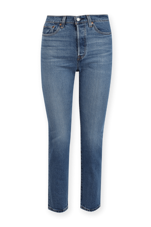 Wedgie Fit Straight Jeans in Medium Wash LEVI`S