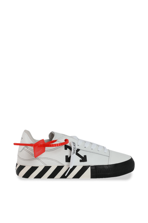 Vulcanized Sneakers in White OFF WHITE