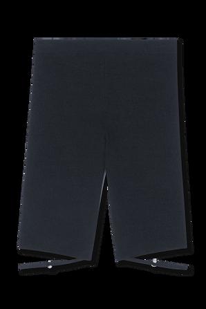 Knitted bermuda in Black JACQUEMUS