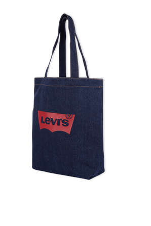 Batwing Tote Bag in Navy Blue LEVI`S