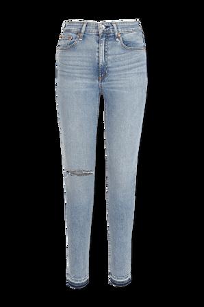 Nina High Rise Skinny Jeans in Bright Wash RAG & BONE