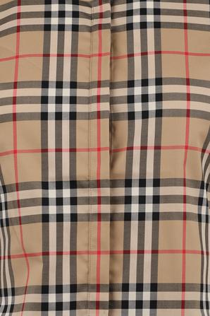 Vintage Check Stretch Cotton Twill Shirt BURBERRY